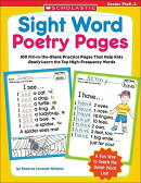 Sight Word Poetry Pages: 100 Fill-In-The-Blank Practice Pages That Help Kids Really Learn the Top Hi