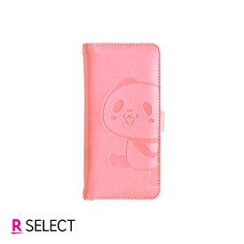 【楽天モバイル純正】OPPO Reno3 A お買いものパンダ 手帳型ケース(ピンク)