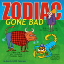 2019 Zodiac Gone Bad 16-Month Wall Calendar: By Sellers Publishing