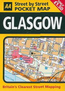 AA Glasgow Street by Street Pocket Map
