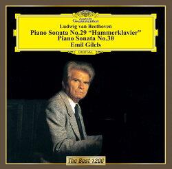 ベートーヴェン:ピアノ・ソナタ 第29番≪ハンマークラヴィーア≫・第30番