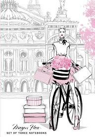 Chic: A Fashion Odyssey Boxed Set of Journals MEGAN HESS SET THREE NOTEBOOKS [ Megan Hess ]