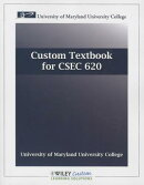 Custom Textbook for CSEC 620: University of Maryland University College
