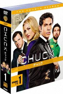 CHUCK/チャック<フォース・シーズン> セット1 [ ザッカリー・リーヴァイ ]