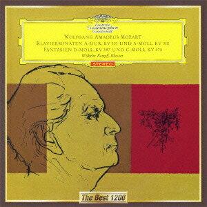 モーツァルト:ピアノ・ソナタ第11番≪トルコ行進曲付き≫、第8番、他 [ ヴィルヘルム・ケンプ ]