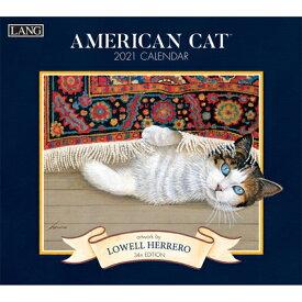 American Cat(tm) 2021 Wall Calendar AMER CAT(TM) 2021 WALL CAL [ Lowell Herrero ]