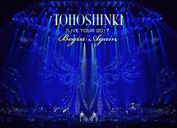東方神起 LIVE TOUR 2017 〜Begin Again〜 DVD3枚組(スマプラ対応)(初回生産限定)