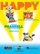 【輸入楽譜】ウィリアムス, Pharrell: 3Dアニメ映画「怪盗グルーのミニオン危機一発」より ハッピー