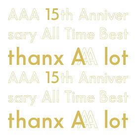 【楽天ブックス限定先着特典】AAA 15th Anniversary AllTime Best -thanx AAA lot- (初回限定盤 5CD+スマプラ) (缶ミラー付き) [ AAA ]