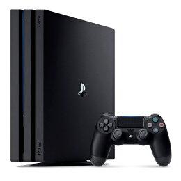 PlayStation4 Pro ジェット・ブラック 1TB 【PlayStation4 ゲットチャンスキャンペーン:今、PS4を買うとNewみんなのGOLFもらえる!】
