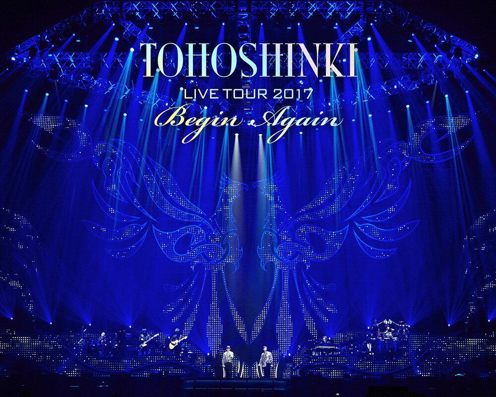 東方神起 LIVE TOUR 2017 〜Begin Again〜 Blu-ray Disc2枚組(スマプラ対応)(初回生産限定)【Blu-ray】 [ 東方神起 ]