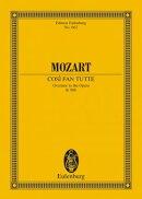 【輸入楽譜】モーツァルト, Wolfgang Amadeus: オペラ「コシ・ファン・トゥッテ」 KV 588: 序曲: スタディ・スコア