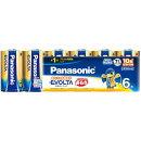 Panasonic エボルタ乾電池 単1形 6本パック LR20EJ/6SW
