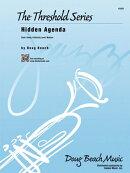 【輸入楽譜】ビーチ, Doug: ヒドゥン・アジェンダ(ジャズ・アンサンブル): スコアとパート譜セット