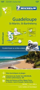 Michelin Zoom Guadeloupe Map 137
