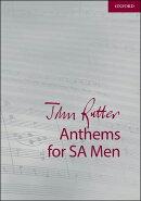 【輸入楽譜】ラター, John: ソプラノ、アルトと男声のためのジョン・ラター・アンセム集(ピアノまたはオルガン伴奏…