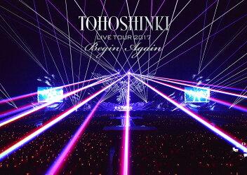 東方神起 LIVE TOUR 2017 〜Begin Again〜 DVD2枚組(スマプラ対応)