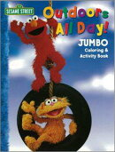 SESAME STREET Outdoors All Day! JUMBO Coloring & Act
