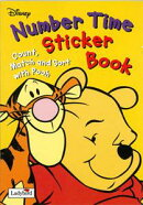 Number Time Sticker Book-Pooh [洋書]