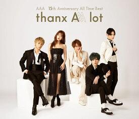 AAA 15th Anniversary AllTime Best -thanx AAA lot- (4CD+スマプラ) [ AAA ]