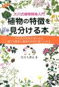 植物の特徴を見分ける本 [ 大川ち津る ]