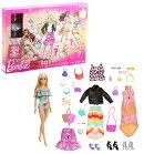バービー(Barbie) アドベントカレンダー 【着せ替え人形】【ドール&アクセサリー】【3歳~】 GXD64