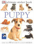 Ultimate Sticker Book: Puppy [With More Than 60 Reusable Full-Color Stickers]