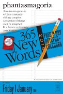 365 New Words Page-A-Day Notepad + Calendar
