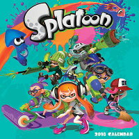 Splatoon(tm)2018WallCalendarCAL2018-SPLATOON(TM)WALL[Nintendo]