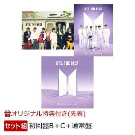 【楽天ブックス限定同時購入特典】BTS, THE BEST(DVD&フォトブックレットセット:初回限定盤B 2CD+2DVD+初回限定盤C+通常盤)(メンバー別ステッカーセット) [ BTS(防彈少年團) ]