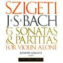 【輸入盤】無伴奏ヴァイオリンのためのソナタとパルティータ全曲 シゲティ(2CD)
