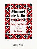 【輸入楽譜】ファリャ, Manuel de: 「恋は魔術師」より 火祭りの踊り