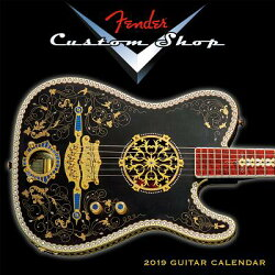 2019 Fendercustom Shop Guitar Mini Calendar: By Sellers Publishing