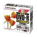 地デジ録画用DVD-R 16倍速書込 1枚ケース10P