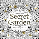 Secret Garden 2018 Wall Calendar: An Inky Treasure Hunt and 2018 Coloring Calendar