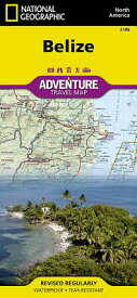 Belize MAP-ADVENTURE MAP 3106 BELIZE (Adventure Map (Numbered)) [ National Geographic Maps - Adventure ]