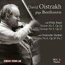 【輸入盤】ヴァイオリン・ソナタ第5番『春』、第9番『クロイツェル』、第6番 オイストラフ、バウエル、リヒテル