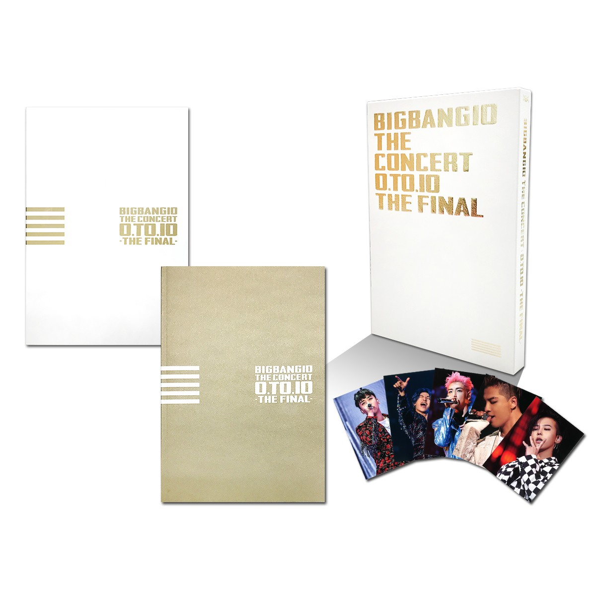BIGBANG10 THE CONCERT : 0.TO.10 -THE FINAL-[TOUR FINAL @ KYOCERA DOME OSAKA (2016.12.29)][DVD(4枚組)+LIVE CD(2枚組)+PHOTO BOOK+スマプラムービー&ミュージック] -DELUXE EDITION-(初回生産限定盤) [ BIGBANG ]