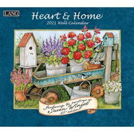 Heart & Home(r) 2021 Wall Calendar HEART & HOME(R) 2021 WALL CAL [ Susan Winget ]