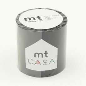 カモ井加工紙 マスキングテープ mt CASA 50mm 50mm幅×10m巻き マットブラック MTCA5085 マスキングテープ (文具(Stationary))