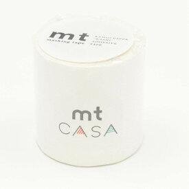 カモ井加工紙 マスキングテープ mt CASA 50mm 50mm幅×10m巻き マットホワイト MTCA5086 マスキングテープ (文具(Stationary))
