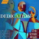 【輸入盤】Trio Armin Rosin Dedication