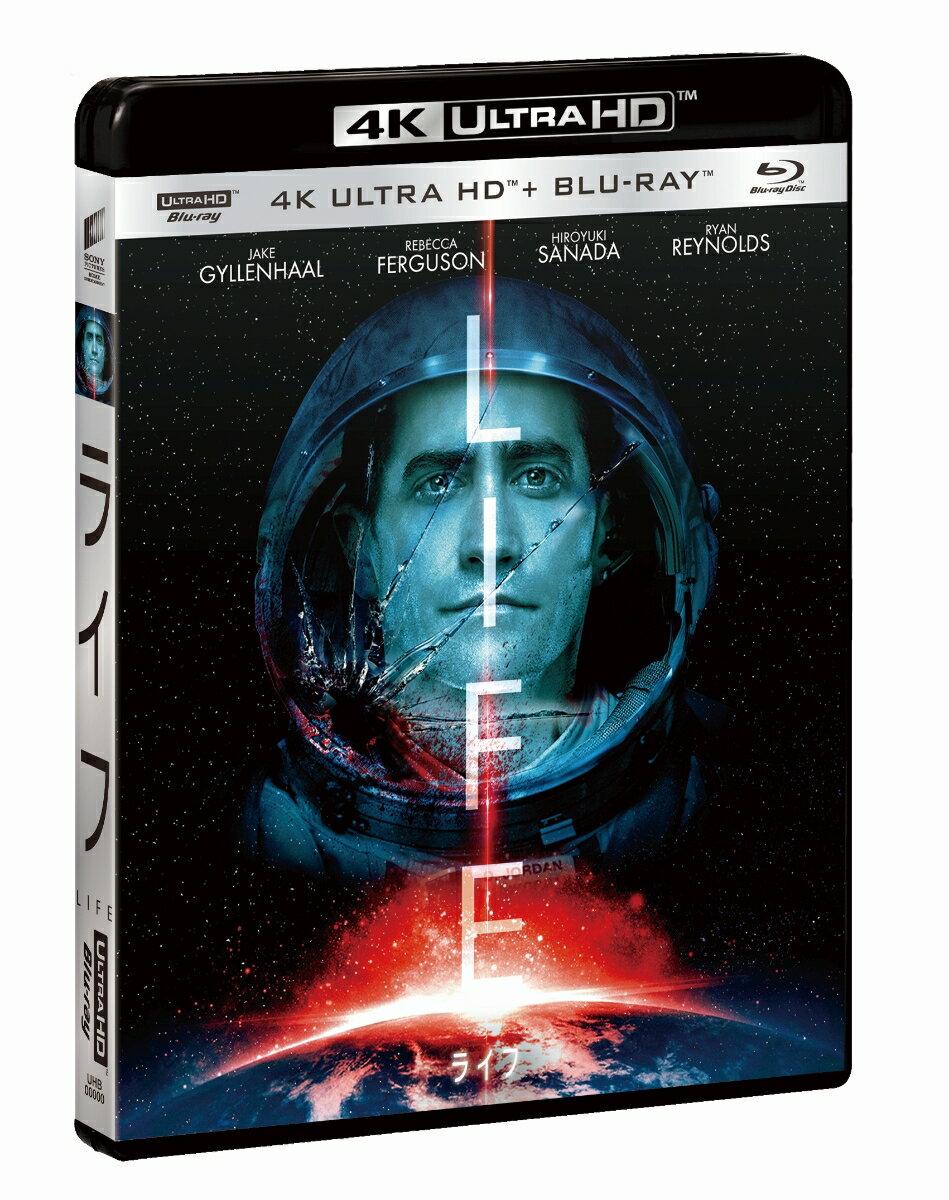 ライフ(4K ULTRA HD+ブルーレイ)【4K ULTRA HD】 [ ジェイク・ギレンホール ]
