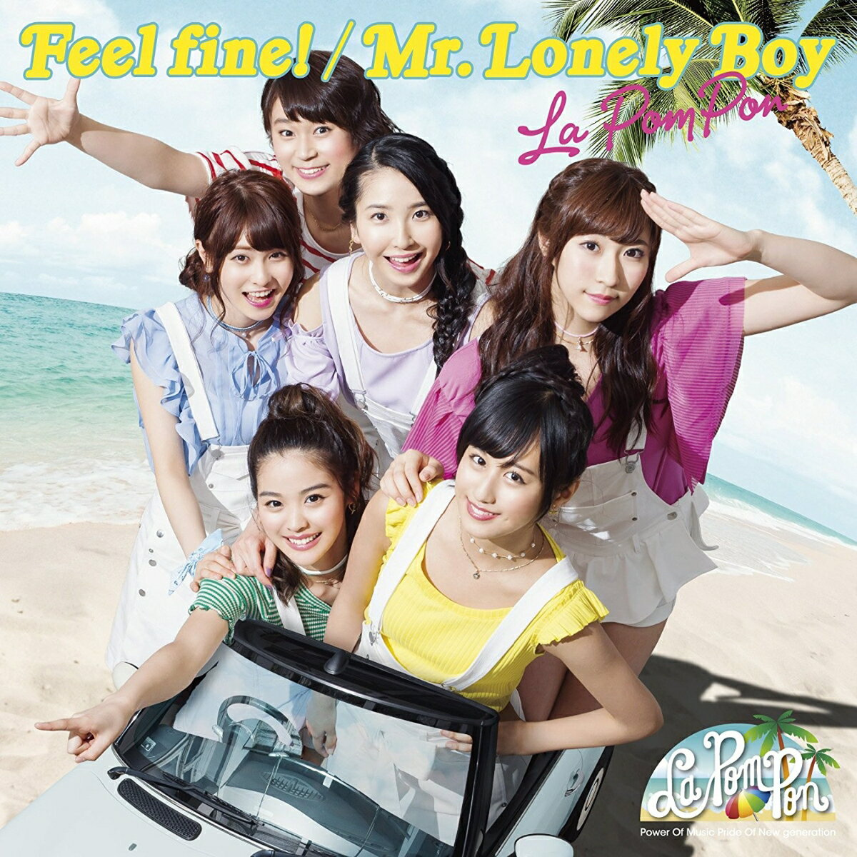 Feel fine!/ Mr.Lonely Boy (初回限定盤 CD+DVD) [ La PomPon ]
