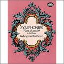 【輸入楽譜】ベートーヴェン, Ludwig van: 交響曲全集 第3巻: 第8番、第9番 「合唱付き」: 大型スコア