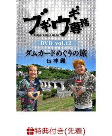 【先着特典】ブギウギ専務DVD vol.12 「ダムカードめぐりの旅in沖縄」(告知ポスター(B2サイズ))