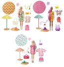 バービー(Barbie) カラーリビール!サマーフォーム アソート GTR91-986A