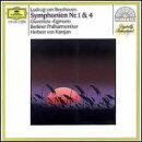 【輸入盤】交響曲第1,4番 カラヤン&ベルリン・フィル