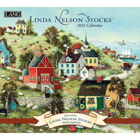 Linda Nelson Stocks 2021 Wall Calendar LINDA NELSON STOCKS 2021 WALL [ Linda Nelson Stocks ]