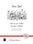 【輸入楽譜】ペルト, Arvo: 子どもたちからの歌(児童合唱とピアノ伴奏)(CD付)
